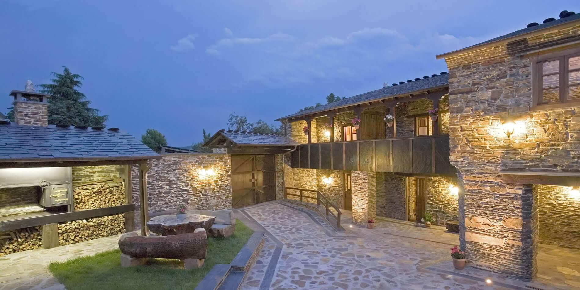 Balc n de oscos casa rural en entorno privilegiado para hacer turismo rural y senderismo por oscos - Casas rurales galicia con piscina ...